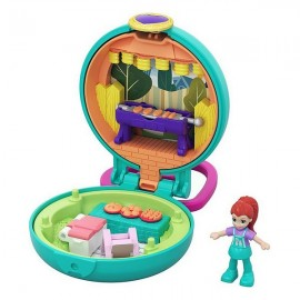 Polly Pocket Mattel Lila BBQ